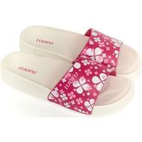 Boty Ženy pantofle Wink Dámske bielo-ružové šľapky MISCHA biela