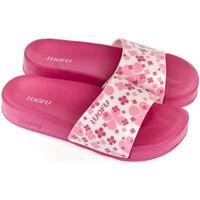 Boty Ženy pantofle Wink Dámske ružovo-biele šľapky MISCHA ružová