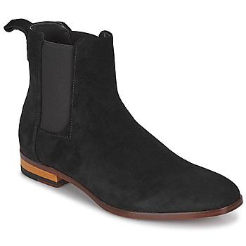 Boty Muži Kotníkové boty HUGO CULT CHEB Černá