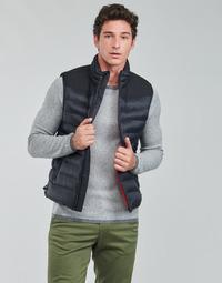 Textil Muži Prošívané bundy HUGO BALTINO Černá