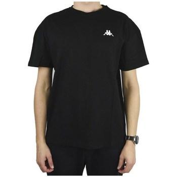 Textil Muži Trička s krátkým rukávem Kappa Veer Tshirt Černé