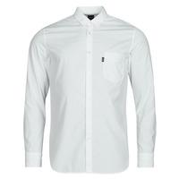 Textil Muži Košile s dlouhymi rukávy BOSS MAGNETON Bílá