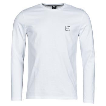 Textil Muži Trička s dlouhými rukávy BOSS TACKS Bílá