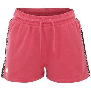 Textil Ženy Tříčtvrteční kalhoty Kappa Irisha Růžové