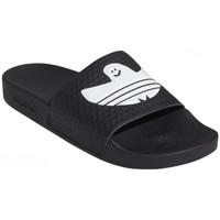 Boty Muži pantofle adidas Originals Shmoofoil slide Černá