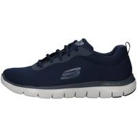 Boty Muži Nízké tenisky Skechers 52125 Modrá