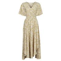 Textil Ženy Společenské šaty Betty London ONINA Žlutá / Bílá