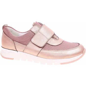 Boty Ženy Nízké tenisky Waldläufer Dámská obuv  908301 200202 rosegold-shell Růžová