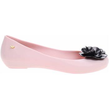 Boty Ženy Baleríny  Zaxy Dámské baleriny  plážové 82256 51485 beige-black Růžová