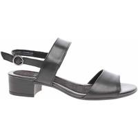 Boty Ženy Sandály Jana Dámské sandály  8-28203-24 black Černá
