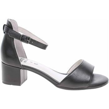 Boty Ženy Sandály Jana Dámské sandály  8-28334-24 black Černá