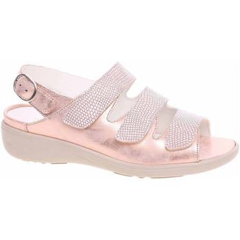 Boty Ženy Sandály Waldläufer Dámské sandály  684002 200139 skin Růžová