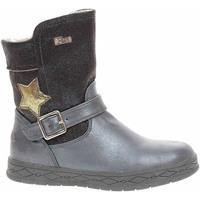 Boty Dívčí Zimní boty S.Oliver Dívčí kozačky  5-36605-23 blue comb Modrá
