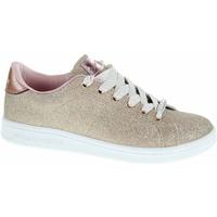 Boty Dívčí Šněrovací polobotky  & Šněrovací společenská obuv Skechers Omne - Shimmer Street gold Zlatá