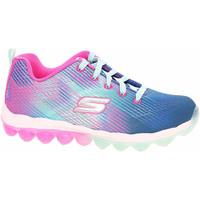 Boty Dívčí Nízké tenisky Skechers Skech-Air - Bounce N´Bop blue-hot pink Modrá