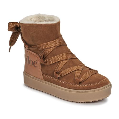 Boty Ženy Zimní boty See by Chloé CHARLEE Velbloudí hnědá