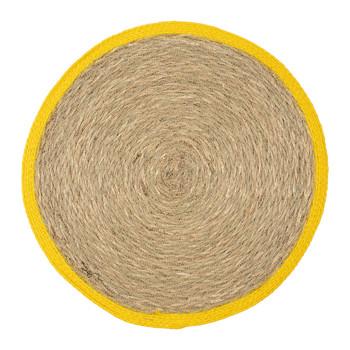 Bydlení Stolní Set Sema BOHO Žlutá