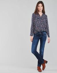 Textil Ženy Rifle rovné Pepe jeans NEW GEN Modrá