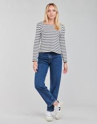 Textil Ženy Rifle rovné Pepe jeans DOVER Modrá
