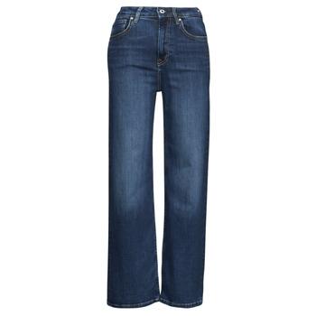 Textil Ženy Rifle bootcut Pepe jeans LEXA SKY HIGH Modrá