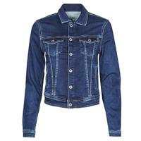 Textil Ženy Riflové bundy Pepe jeans CORE JACKET Modrá