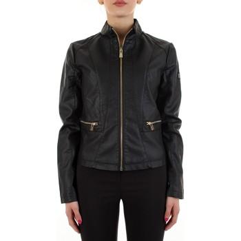 Textil Ženy Kožené bundy / imitace kůže Yes Zee J475-G100 Černá