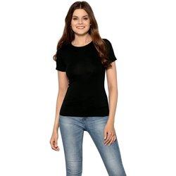 Textil Ženy Trička s krátkým rukávem Babell Dámské tričko Claudia black