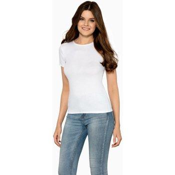 Textil Ženy Trička s krátkým rukávem Babell Dámské tričko Claudia white