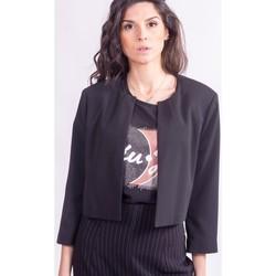 Textil Ženy Bundy Sandro Ferrone GHIANDA Bezbarvý
