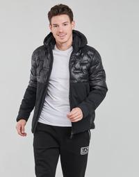 Textil Muži Prošívané bundy Emporio Armani EA7 MOUNTAIN M TECH Černá