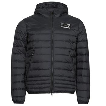 Textil Muži Prošívané bundy Emporio Armani EA7 MOUNTAIN M DOWN Černá