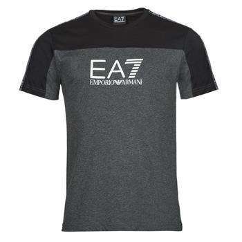 Textil Muži Trička s krátkým rukávem Emporio Armani EA7 TRAIN ATHLETIC Černá
