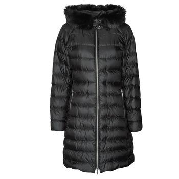 Textil Ženy Prošívané bundy MICHAEL Michael Kors ECO LONG PERFMNC PUFFER Černá