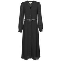 Textil Ženy Společenské šaty MICHAEL Michael Kors CRINKLE DOTS KATE DRS Černá