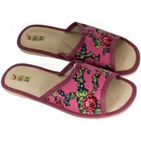 Boty Ženy Papuče John-C Dámske ružové papuče ALMA ružová