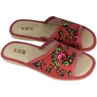 Boty Ženy Papuče John-C Dámske červené papuče ALMA červená
