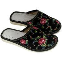 Boty Ženy Papuče John-C Dámske čierne papuče MEGAN čierna