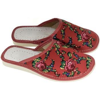 Boty Ženy Papuče John-C Dámske červené papuče MEGAN červená