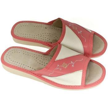 Boty Ženy Papuče John-C Dámske červené papuče SHONA červená