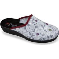 Boty Ženy Papuče Mjartan Dámske sivé papuče  CHERISA sivá