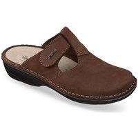 Boty Ženy Pantofle Mjartan Dámske šľapky  DORY hnedá