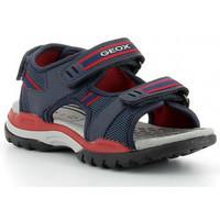 Boty Chlapecké Sportovní sandály Geox J BOREALIS BOY D J020D bleu