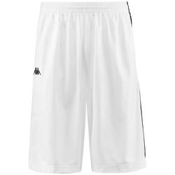 Textil Muži Kraťasy / Bermudy Kappa Banda Treadwell Shorts Bílá
