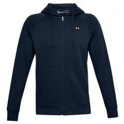 Textil Muži Mikiny Under Armour Rival Fleece FZ Hoodie modrá