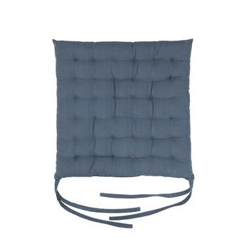 Bydlení Polštář na židli Broste Copenhagen AVA Modrá