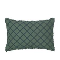Bydlení Povlaky na polštáře Broste Copenhagen MAGNE Smaragdově zelená