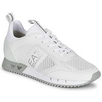 Boty Nízké tenisky Emporio Armani EA7 BLACK&WHITE LACES Bílá