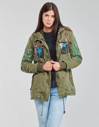 Textil Ženy Parky Desigual FLIX Khaki