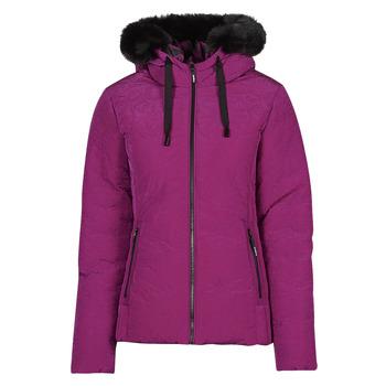 Textil Ženy Prošívané bundy Desigual SNOW Růžová