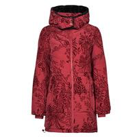Textil Ženy Prošívané bundy Desigual JAPAN Červená